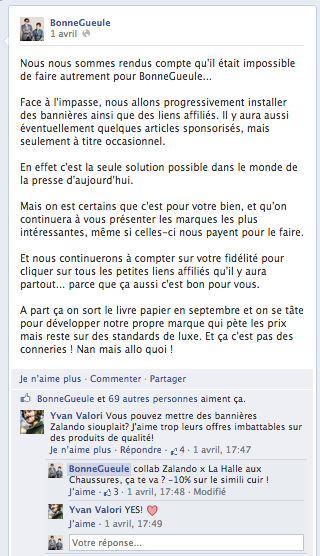 facebook bonnegueule