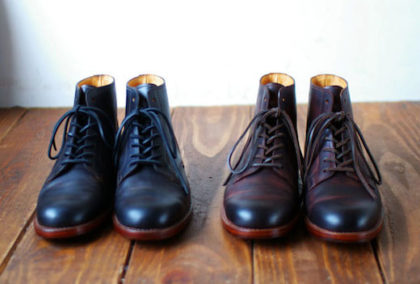 bottines cordovan