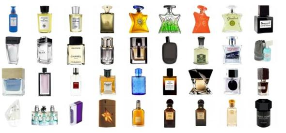 mosaique de parfums