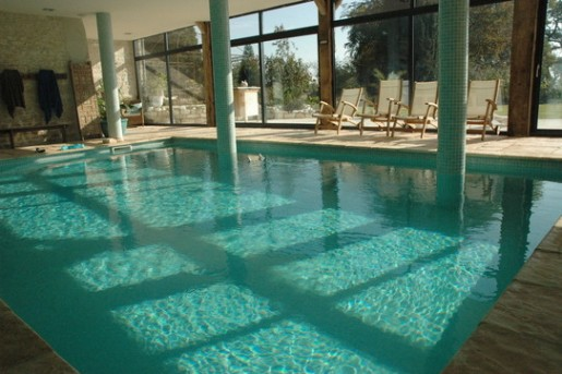 Piscine couverte